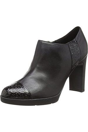 Geox D Annya High D, Zapatos de Tacón para Mujer, (Black C9999)