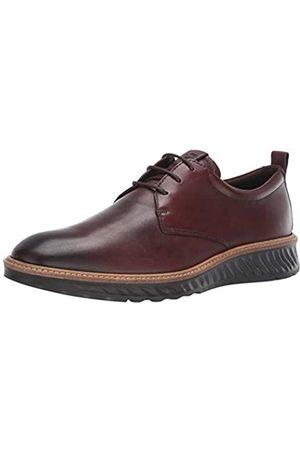 Ecco ST.1HYBRID, Zapatos de Cordones Derby para Hombre, (Cognac 1053)