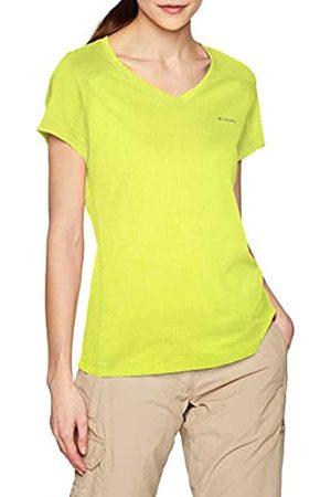 Columbia Mujer Camiseta, ZERO RULES SHORT SLEEVE SHIRT, Poliéster, Talla: XL