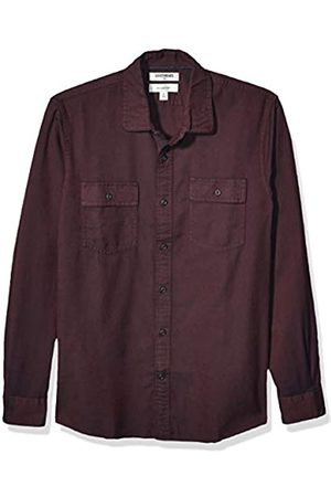 Goodthreads Slim-Fit Long-Sleeve Plaid Twill Shirt Button-Down-Shirts