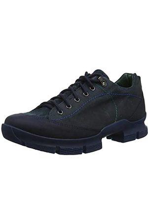 Think! Waunda_585630, Zapatos de Cordones Derby para Hombre, Petroleo/Kombi 92
