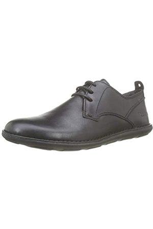 Kickers Swidira, Zapatos de Cordones Derby para Hombre, (Noir Perm 8)