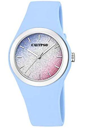 Calypso RelojAnalógicoparaMujerdeCuarzoconCorreaenSiliconaK5754/4