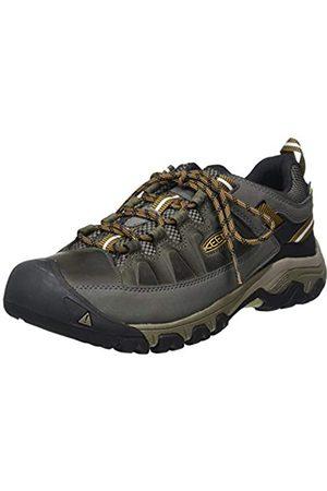 Keen Targhee III Waterproof, Zapatos de Low Rise Senderismo para Hombre, (Black Olive/Golden Brown 0)