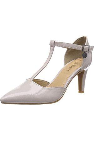 s.Oliver 5-5-24405-22, Zapatos de Tacón para Mujer, (Lt Grey Patent 219)