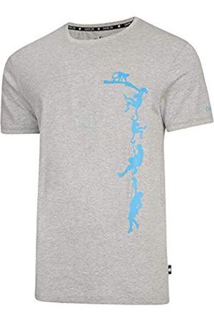 Hombre Dare 2b Transferal Cotton Ribbed Collar Graphic Print Camiseta