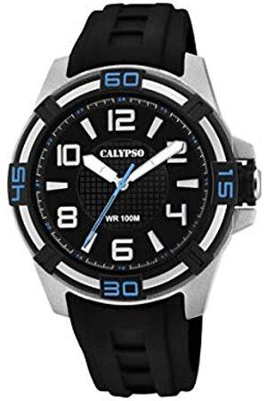 Calypso Reloj Analógico para Unisex Adultos de Cuarzo con Correa en Plástico K5760/5