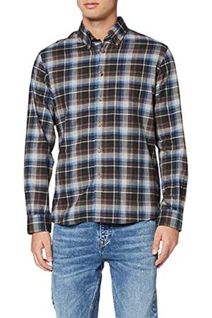 Brooks Brothers Plaid Flannel Milano Pldgryblue Camisa Casual