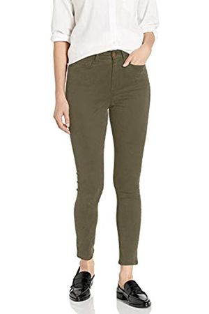 Daily Ritual Sateen High-Rise Skinny Ankle Pant Pants