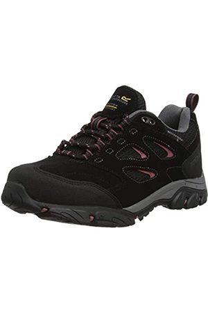 REGV7|#Regatta Holcombe Iep Low, Walking Shoe Womens, (Blk/Decorose 145)
