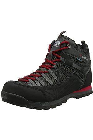 Karrimor Spike Mid 3 Weathertite, Zapatillas de Senderismo para Hombre, (Black Red)