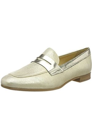 Geox D Marlyna B, Mocasines para Mujer, (Gold)