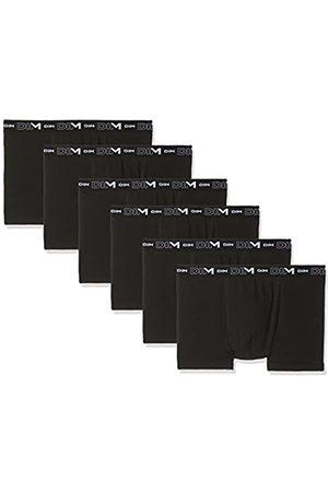 Dim Coton Stretch Boxer X6 Culotte, Multicolore (Noir/Noir/Noir + Noir/Noir/Noir 0hz)