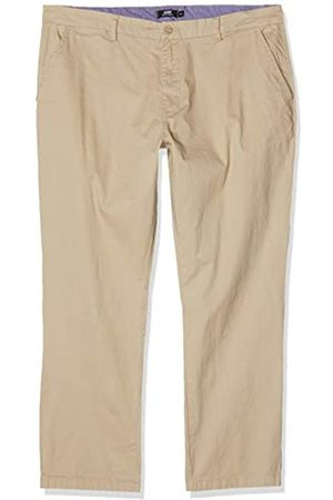 Jacamo Men's Regular Fit Stretch Chinos In Stone Short Length (29 Inches) Pantalones, 001
