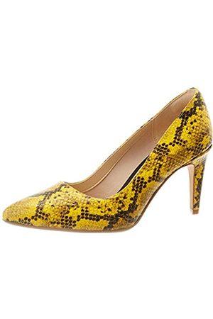 Clarks Laina RAE, Zapatos de Tacón para Mujer, (Yellow Snake Yellow Snake)