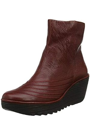 Fly London Yeni062fly, Botas Chelsea para Mujer, (Red 008)