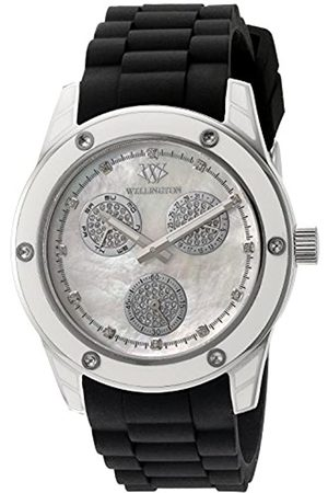 Daniel Wellington WN506-182A - Reloj analógico de Cuarzo para Mujer con Correa de Silicona