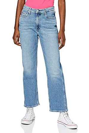 Calvin Klein Ckj 030 High Rise Straight Ankle Pantalones