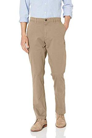 Amazon Pantalones chinos elásticos informales de corte atlético