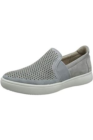 Rockport City Lights Ariell Double Gore Slip on, Mocasines para Mujer, (Grey/Blue 003)