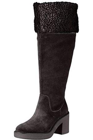 Geox D ADRYA Mid B, Botas Altas para Mujer, (Black C9999)