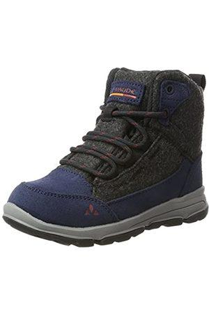Vaude Ubn Kiruna Mid Cpx, Zapatos de high rise senderismo, unisex, infantil, Azul (Eclipse)