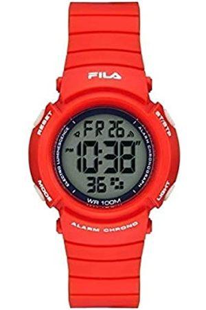 Fila RelojDigitalparaUnisexAdultosdeCuarzoconCorreaenPU38-212-002
