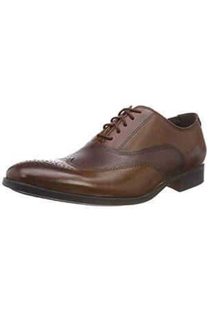 Clarks Gilmore Wing, Zapatos de Cordones Brogue para Hombre, (British TanLea)
