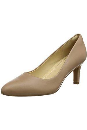Clarks Calla Rose Zapatos de Tacón Mujer, (Praline Leather)