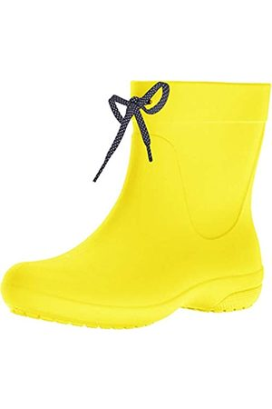 Crocs Freesail Shorty Rain Boots, Mujer Bota, (Lemon)