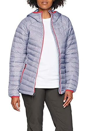 Columbia Chaqueta Impermeable con Capucha para Mujer, Powder Lite Hooded