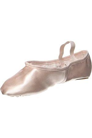 So Danca Bae15, Bailarinas con Correa de Tobillo para Mujer, (Pink)