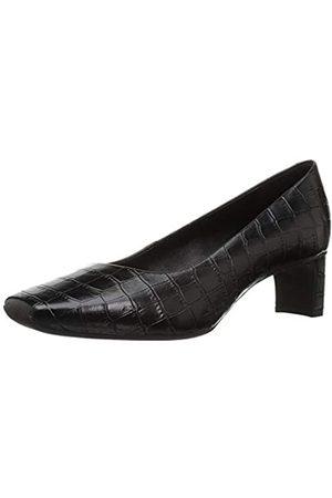 Geox D Vivyanne Mid A, Zapatos con Tacón para Mujer, (Black C9999)