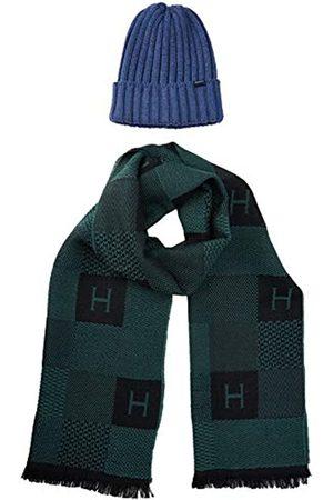 Hackett Hombre Bufandas y Pañuelos - Hackett H Chk Scarf&beanie Set conjunto bufanda, gorro y guantes