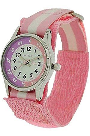 Reflex Reloj Analógico para Niñas de Cuarzo con Correa en Tela REFK0005
