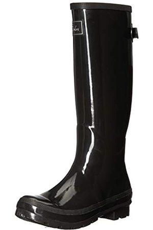 Joules Fieldwelly gloss Botas de agua Mujer, (black black)