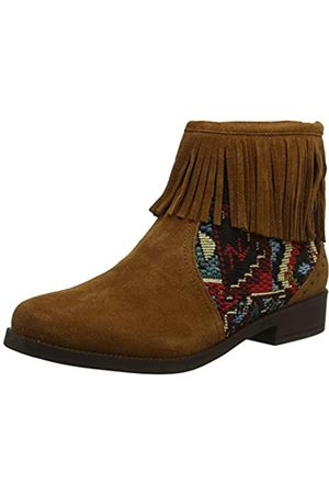 Desigual Shoes Ottawa Tapestry, Botines para Mujer, (Chocolate 6053)