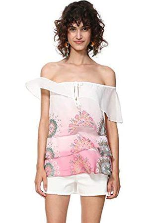 Desigual Blouse Sleeveless Alyssa Woman Pink Blusa, ( Marlen 3012)