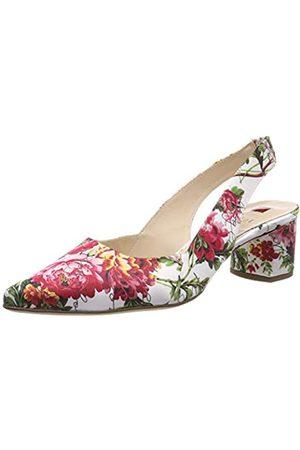 Högl Högl SLINGABELLA, Zapatos de Talón Abierto para Mujer, (Weiss/Multi 0299)