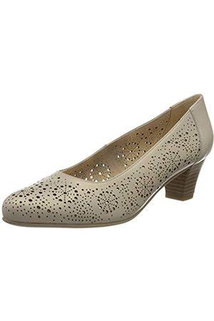 Caprice Cristel, Zapatos de Tacón para Mujer, (Cream Perlato 140)