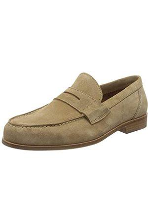 Lottusse L7212, Mocasines (Loafer) para Hombre, (Camoscio Legno Camoscio Legno)
