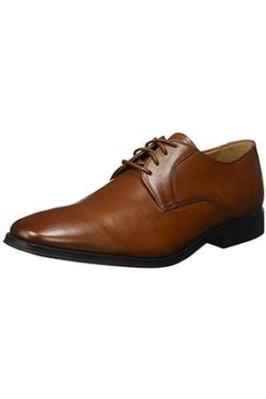 Clarks Gilman Lace, Zapatos de Cordones Derby para Hombre, (Dark Tan Leather)