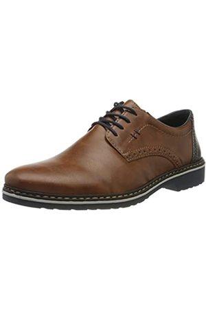 Rieker Frühjahr/Sommer, Zapatos de Cordones Derby para Hombre, (Peanut/Ozean/ 24 24)
