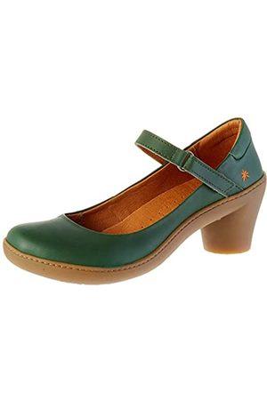 Art ALFAMA, Zapatos de tacón con Punta Cerrada para Mujer, (Forest Forest)
