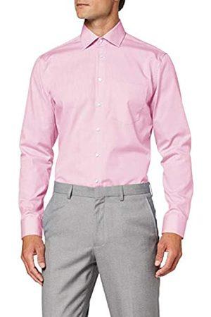 Seidensticker Einfarbiges, Schickes Hemd Mit Extra Tragekomfort Und Kent-Kragen – Regular Fit – Langarm Camisa