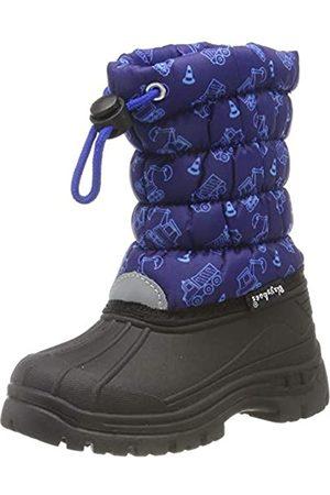 Playshoes Zapatos de Invierno Obras, Botas de Nieve Unisex Niños, (Marine 11)