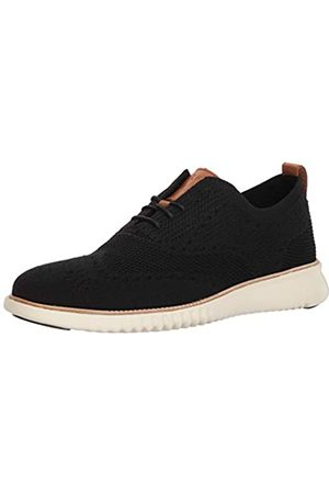 COZ7W #Cole Haan 2.Zerogrand Stitchlite Oxford, Zapatos de Cordones Hombre, Black/Ivory