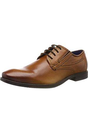 Bugatti 311196054100, Zapatos de Cordones Derby para Hombre, (Cognac 6300)