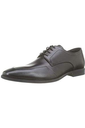 Geox U New Life A, Zapatos de Cordones Derby para Hombre, (Black C9999)