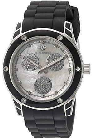 Daniel Wellington WN506-182B - Reloj analógico de Cuarzo para Mujer con Correa de Silicona
